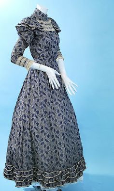 All The Pretty Dresses: Adorable 1890's Summer Dress