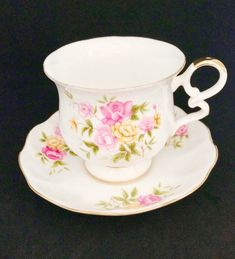 Royal Ascot, Inglaterra, 'Country Bouquet', taza de café, 110cc
