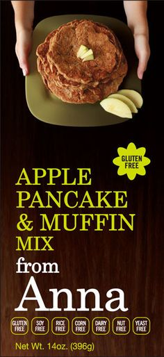 Breads From Anna Gluten Free Apple Pancake & Muffin Mix