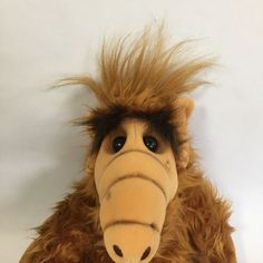 Vtg 80's ALF TV Show Plush Doll Stuffed Animal 1986 Coleco Alien Productions  | eBay