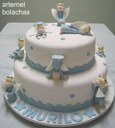 Religious Cake - Angels