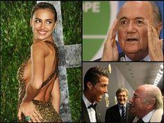 News Kaleidoskope Irina Shayk, Cristiano Ronaldo, Fifa, News, Fashion, Moda, Fashion Styles, Irina Shayak, Fasion