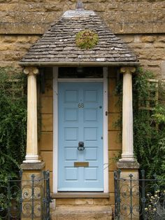 a Cotswold doorway