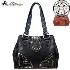 Montana West PAG-8336 Tooling Concealed Carry Handbag