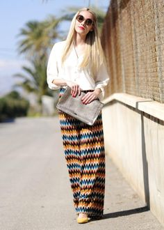 Palazzo Pants Street Style By Personal Style For Ladies Click The Picture To See More