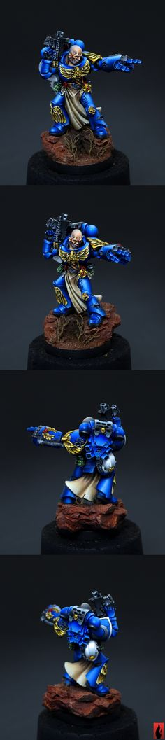 40k - Ultramarines Veteran by Flameon