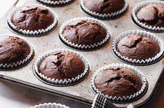 Double-Chocolate Banana Muffins