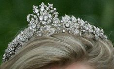 Cubitt-Shand tiara, originally owned bySonia Rosemary Cubitt, Baroness Ashcombe (née Keppel), maternal grandmother of Camilla, Duchess of Cornwall.