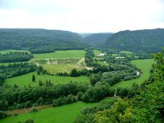 Belvédère des 3 vallées : Ain, Lemme et Saine, Le Vaudioux | © MariiOn39