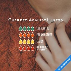 Guarded Against Illness - Essential Oil Diffuser Blend