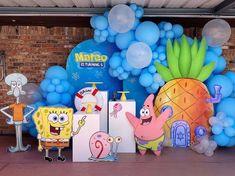 3rd Birthday, Birthday Parties, Kids Party Decorations, I Party, Spongebob, Diy, Drawings, Boyish Girl, Spongebob Birthday Party