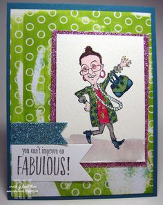 You've Got Style from Stampin' Up! colored on watercolor paper