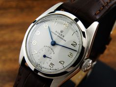 Rolex Watches Collection : Rolex Vintage Speedking Precision 5056 manual Speed King no date - Watches Topia - Watches: Best Lists, Trends & the Latest Styles Gold Watches Women, Watches For Men, Ladies Watches, Casual Watches, Wrist Watches, Vintage Rolex, Vintage Watches, Swiss Army Watches, Seiko Watches