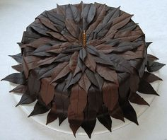 History of Chocolate Cake. Here's what Wikipedia tells about the beginnings of the most beloved cake of all time.Chocolate cake is a de. Chocolate Dreams, Chocolate Delight, I Love Chocolate, Chocolate Heaven, Chocolate Art, Chocolate Lovers, Chocolate Desserts, Chocolate Decorations For Cake, Beautiful Cakes