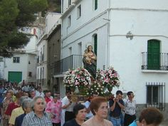 Virgen del Rosario. Polopos #Alpujarra #Granada