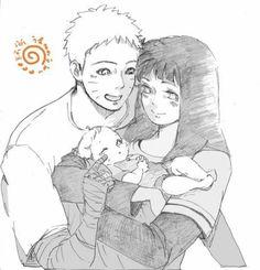 Image about anime in Naruto and Hinata 💜 by Naho Anime Naruto, Naruto Und Hinata, Kid Naruto, Naruto Comic, Naruto Cute, Naruto Funny, Sakura And Sasuke, Naruhina, Sarada Uchiha
