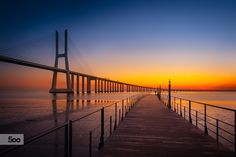 Waiting by Nuno Trindade on Lisbon Portugal, My World, Attraction, Waiting, City, Places, Travel, Bridges, Lovers
