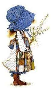 Holly Hobbie ~ a favorite of mine in the '70s