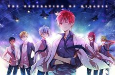 Kiseki no Sedai (Generation Of Miracles) - Kuroko no Basuke - Image - Zerochan Anime Image Board Kuroko No Basket, Kiseki No Sedai, Akakuro, Generation Of Miracles, Kuroko Tetsuya, Kuroko's Basketball, Cute Anime Boy, Cool Artwork, Drawings