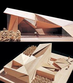 Grand Church of Jingling Religion Collage AZL Arch. Grand Church of Jingling Religion Collage AZL Arch. Maquette Architecture, Brick Architecture, Cultural Architecture, Architecture Drawings, Interior Architecture, Architecture Student Portfolio, Concept Models Architecture, Architecture Model Making, Arch Model