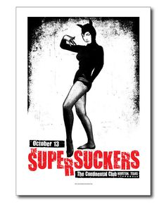The Supersuckers by carloshernandez on Etsy, $40.00