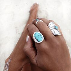 GypsyLovinLight: Tyrone Turquoise Ring