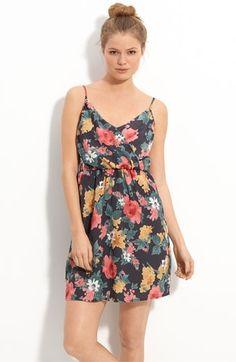 Lush Surplice Tank Dress (Juniors)   Nordstrom - StyleSays