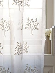 Silk Curtain Fabrics & Fashion Designers