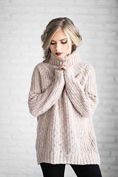 shop jessakae, sweaters, turtleneck, blush sweater, blush, mauve, holiday hair, holiday makeup, vivian makeup artist, ribbed sweater, womens fashion, ootd, style, fashion
