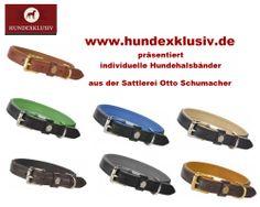 Klassische Hundehalsbänder aus der Sattlerei Otto Schumacher sind ein Synonym für die Verwendung hochwertigster Materialien und exzellenter Sattlerarbeit. Schlichte, klare Formen in Verbindung mit perfekter Handarbeit, Made in Germany.
