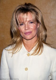 Kim Basinger pictured  in 1993