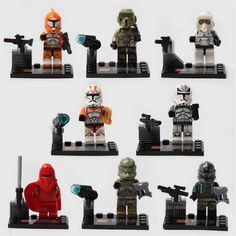 star wars jedi clone troopers minifigure compatible lego toy - Lego Clone Trooper Coloring Pages