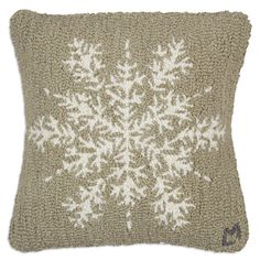 "Khaki Flake 18"" Pillow - Chandler 4 Corners"