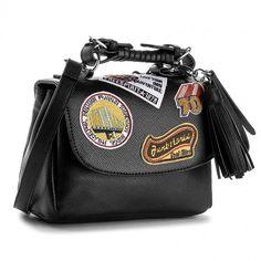 b0a908127 Kabelka STEVE MADDEN - Btravelr Shoulderbag 93000085-07004-01001 Black