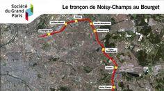 Société du Grand Paris - le tronçon Noisy-Champs - Le Bourget