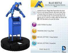 Blue Beetle #016 DC 10th Anniversary Heroclix Singles - DC Heroclix 10th Anniversary - HeroClix - Miniatures