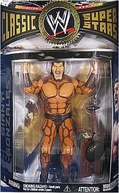 Jakks Pacific WWE Wrestling Classic Superstars Series 16 Action Figure Giant Gonzales * Check out this great product. (This is an affiliate link) Wwf Superstars, Wrestling Superstars, Wrestling Wwe, Wwe Action Figures, Custom Action Figures, Basketball Goals For Sale, Tnt Basketball, Basketball Leagues, Basketball Legends