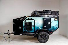 Campers Camper Box, Off Road Camper Trailer, Trailer Build, Camper Caravan, Camper Trailers, Adventure Trailers, Best Trailers, Adventure Campers, Cargo Trailers