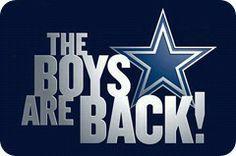 The Boys Are Back website logo - Dallas Cowboys news - Dallas Cowboys schedule - Dallas Cowboys - Dedicated to TRUE BLUE fans of the Dallas ...
