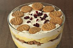 How to Make Eggnog Trifle. When I saw this, I knew it would be at the top of my holiday dessert list from now on. I brought it to our mom's house after one of our meetings, and we polished off the entire trifle. If you love the holiday flavors of eggnog and gingerbread, you might just polish off this trifle, too.