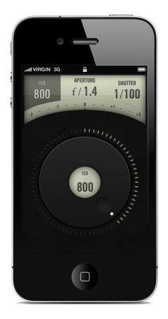 [Concept] Canon Camera Remote iPhone App by Jeremey Fleischer