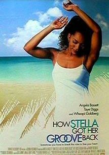 HOW STELLA GOT HER GROOVE BACK (1998): This steamy romance stars Angela Bassett and Taye Diggs as May-December lovers who meet while Stella (Bassett) is on vacation in Jamaica. In addition to the fancy resort and gorgeous beaches filmed on location in Montego Bay, Stella offered audiences a ton of eye candy...