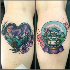 Posting my tattoos! YAY! I love them! By Melanie Milne at LDF Tattoo in Newtown.