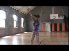 Baton twirling Illusions slow motion - YouTube