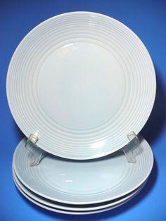 Set of 4 ROYAL DOULTON Gordon Ramsay MAZE Teal Dinner Plates 11 ...