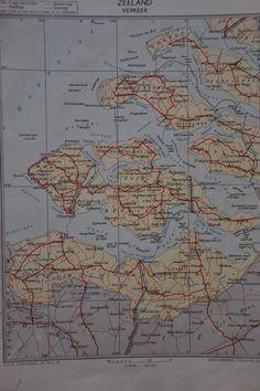 Oude landkaarten KING atlas van DutchRecycling op Etsy, $12,50
