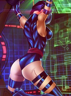 X-Babes Submit: Psylocke by Legendarysid.deviantart.com on @deviantART
