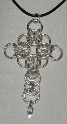 Celtic Cross by Redcrow at Corvus Chainmaille, via Flickr