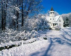 Winter wonderland church