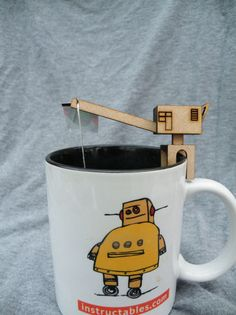 Tea Bag Crane tuturial by Kiteman